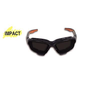 Beta 070930019 7093 BD Safety Glasses With Dark Polycarbonate Lenses
