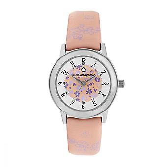 Lulu, Lulu, Lulu, Magnette Watch - purple dial - peach bracelet