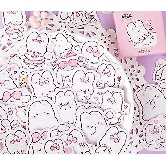 Cute Rabbit Daily Kawaii Decoration Stickers