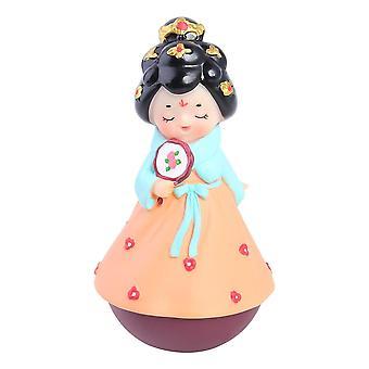 Giocattolo per bambini carino in abito tumbler ornamento artigianato figurina home room ufficio scrivania