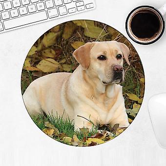 هدية Mousepad : لابرادور يترك الحب مختبرات الكلب