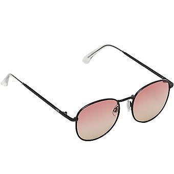 バンズ レディース チル ワイヤー フレーム ホリデー サマー サングラス - ブラック/ピンク