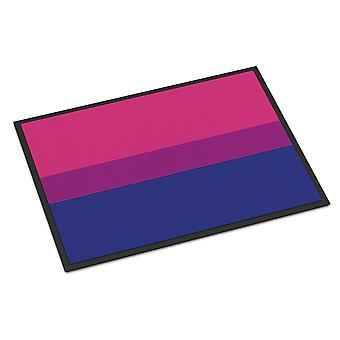 Carolines Treasures  CK8011MAT Bisexual Pride Indoor or Outdoor Mat 18x27