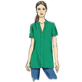 Vogue Patrón de costura 9151 Misses V Cuello Túnicas Vestido Tamaño 4-14 Sin cortar
