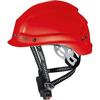 9773350 Schutzhelm für die Baustelle - Bauhelm für Erwachsene - Rot