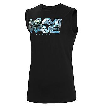 4F TSM029 H4L21TSM029GBOKACZER universel hele året mænd t-shirt