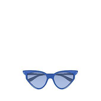 Balenciaga BB0101S النظارات الشمسية الزرقاء أنثى