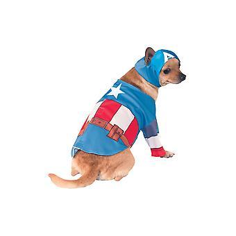 Costume da cane di Capitan America