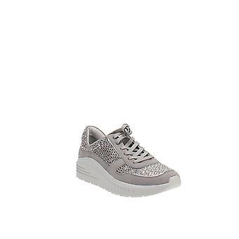 Stuart Weitzman | Christa Crystal Embellished Platform Sneakers