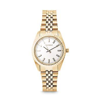 Tayroc launton gold 31mm analog watch 52266