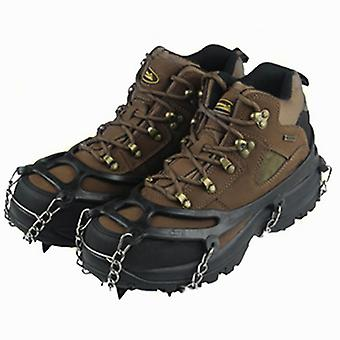 Jään tarttujakrampit kiipeilevät talvisia lumikramppeja liukumaton kenkäkansi