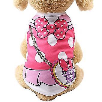 M 9# falešná prak pet vesta, jaro a léto teddy mesh prodyšná vesta az7601