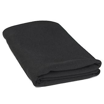 For 1.5mx0.8m Cloth Black Speaker Grill Cloth Stereo Gille Fabric Speaker Mesh WS38094