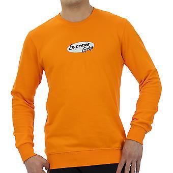 Supreme Grip Menn Sweatshirt Brigand Orange
