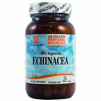 L. A .Naturals Echinacea Raw Herb, 90 Veg Caps