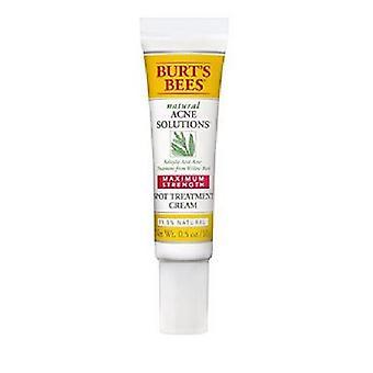 Burt's Bees Acne Solutions Maximum Strength Spot Treatment Cream, 0.5 Oz