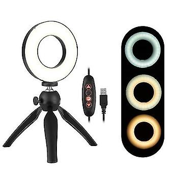 Tragbare 4,6 Zoll LED Ring Licht Lampe