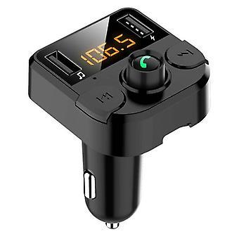 بلوتوث FM الارسال اللاسلكية في سيارة MP3 لاعب راديو USB شاحن اليدين