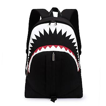Mile Multifunctional Usb Backpack Student Luminous Backpack Casual Oxford Cloth Bag