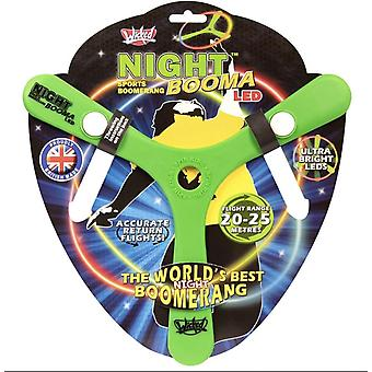 Wicked WKNBL Nuit Boomerang LED Flying Sports Toy