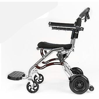 Vanhukset Pyörätuoli taitettava, Kannettava Vanhuksille Vammaiset Puhallettava