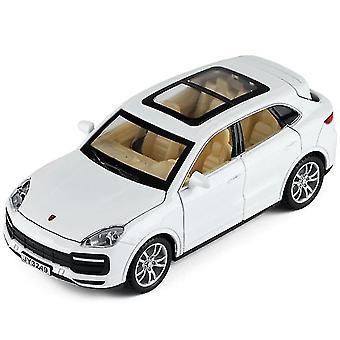 1/32 Diecast Cayenne Alloy Car Toys Model (Blanc)