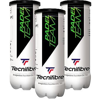 Tecnifibre, 3x Tube with Padel balls - Padel Team