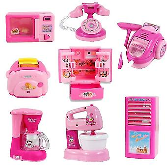Baby Kid Vývojové Vzdělávací Pretend Play Domácí spotřebiče Kuchyňské hračky