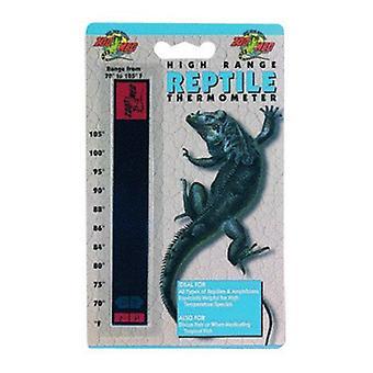 Zoo Med Thermomètre pour reptiles haut de gamme - 70-105 degrés F