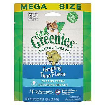 Greenies Feline Dental Treats Tempting Tuna Flavor - 4.6 oz