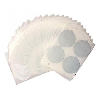 Coffee Cups With Aluminum Lids 100 Pieces Of Reusable Single-cup Filter Espresso Aluminum Lids, Suitable For Coffee Machines