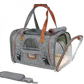 Pet Tote Bag, Outing Tote Bag, Travel Dog Bag (light Gray)