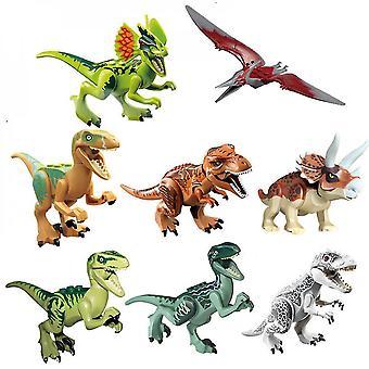 Venalisa Jurassic World Dinosaurier Bausteine 12pcs