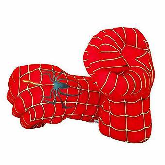 Hulk Spider-Man Plüsch Box Faust Handschuh Cosplay Requisiten Kinder Spielzeug Geschenk