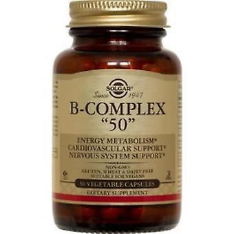 Solgar - Vitamin B Complex 50 High Potency 50VCaps