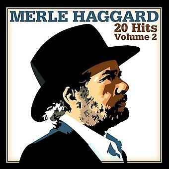 Merle Haggard - Merle Haggard: Vol. 2-20 Hits [CD] USA importeren