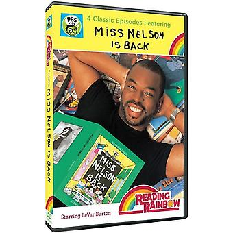 Reading Rainbow: Miss Nelson Is Back [DVD] USA import