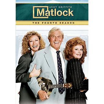 Matlock - Matlock: Fourth Season [DVD] USA import