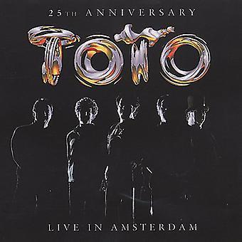 Toto - 25th Anniversary Live in Amsterdam [CD] USA import
