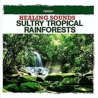 Luonnon äänet - Healing äänet painostava trooppisten sademetsien [CD] USA tuonti