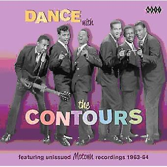 Contours - Dance with the Contours [CD] USA import