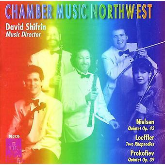 Nielsen/Loeffler/Prokofiev - Nielsen: Quintet Op. 43; Leoffler: Two Rhapsodies; Prokofiev: Quintet Op. 39 [CD] USA import