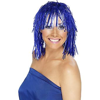 Tinsel glitter showgirl av cyber wig tinsel parykk