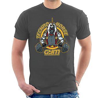 Techno Horse Gym Bravestarr Men's T-Shirt
