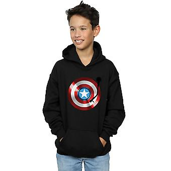 Marvel Boys Captain America Turntable Hoodie