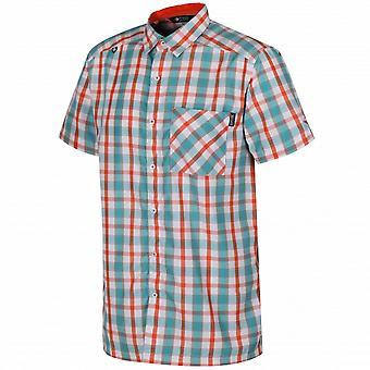 Regatta Mens Mindano III Checked Short Sleeve Shirt