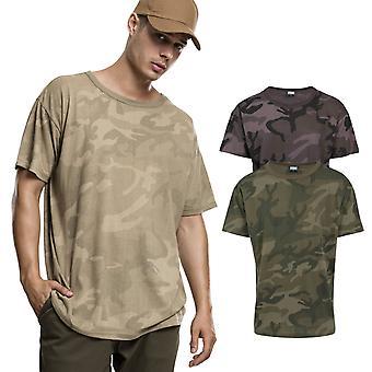 Urban classics - överdimensionerade kamouflage skjorta