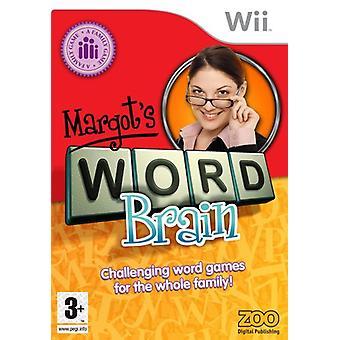 Margots Word Brain (Wii) PEGI-fabriek verzegeld