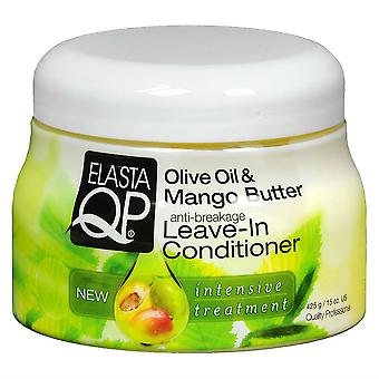 Elasta QP Olive Oil & Mango Butter Anti-Breakage Leave-In Conditioner 425g