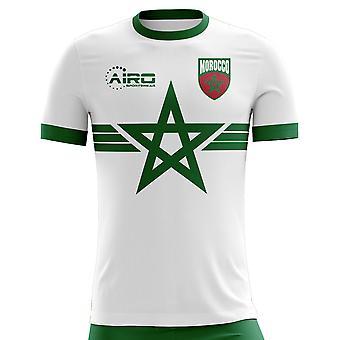 2020-2021 Marokko Away Concept Fodbold shirt